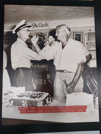 Morehead City, NC: picture of Pappy Joe (on the left)