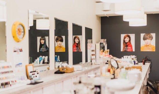 Horseheads, NY: We love our salon @ Namaste'