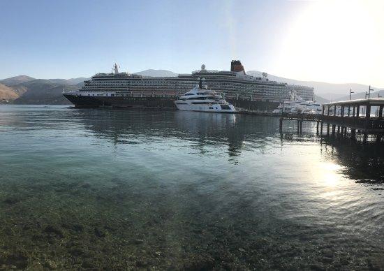 Holland America Lines In Argostoli Port Picture Of