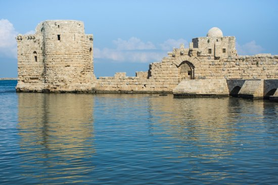 Sidon, Liban: Castle.