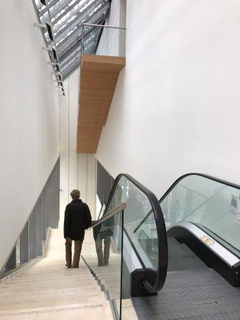 Coleccion de Arte Amalia Lacroze de Fortabat: Escaleras hacia primer piso