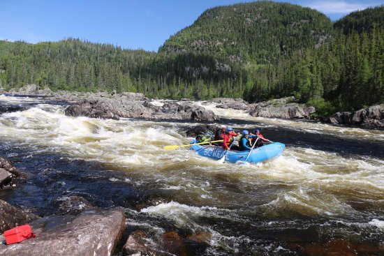 Sept Iles, Canada: Rafting on the Magpie River