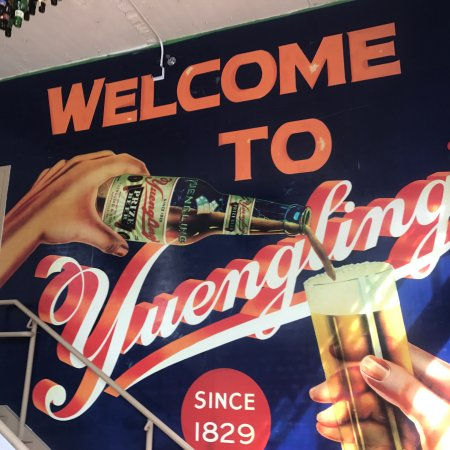 D.G. Yuengling and Son Brewery: Souvenirs shop entrance 10/2017
