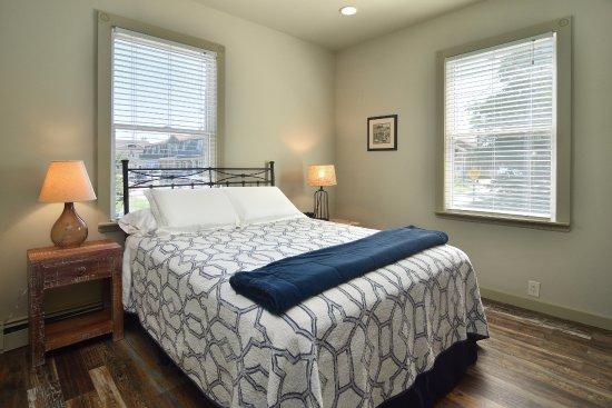 South Jamesport, Estado de Nueva York: Orient Cottage Bedroom