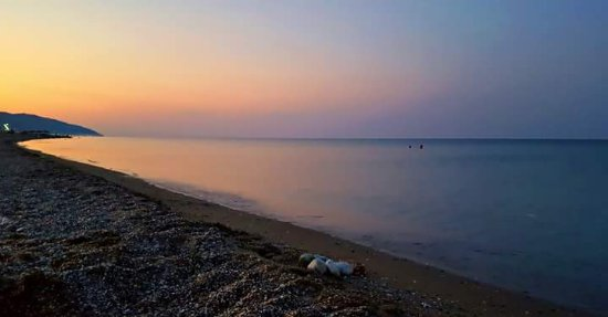 Αγιόκαμπος, Ελλάδα: When the sun goes down