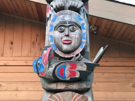 Bella Coola, Canada: Totem