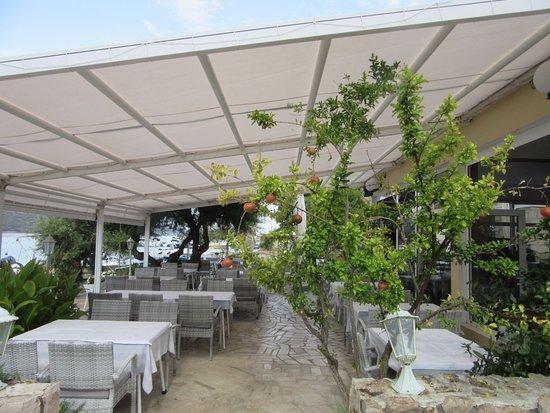 Tisno, كرواتيا: Antonio Restaurant, Tisno, Croatia