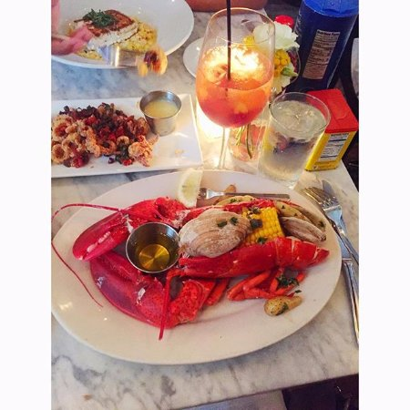 Lobster boil billede af farmer the fish gramercy new for Gramercy farmer and the fish