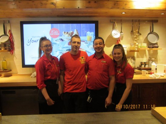 Brewers Fayre Old Brickworks: SOME OF THE STAFF