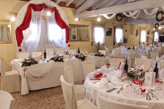 Matrimonio In Dicembre : Sala matrimonio dicembre picture of osteria al portego