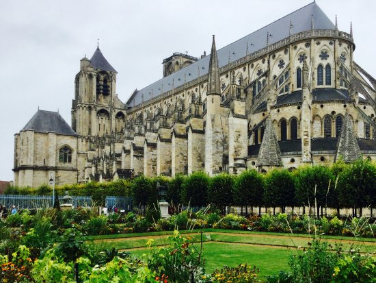 The Cathedral of St- Etienne, Bourges, France