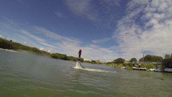 Lydd, UK: Fly Boarding