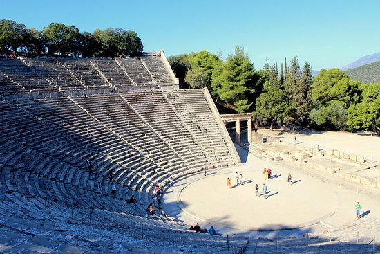 Epidavros, Grekland: Απλά μοναδικό.