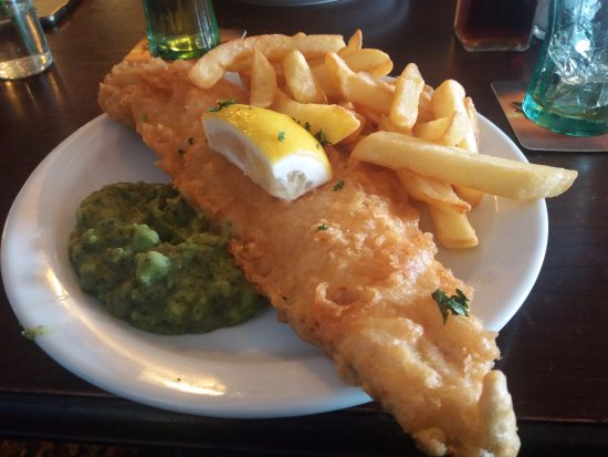 Dungeness, UK: Excellent Fish & Chips