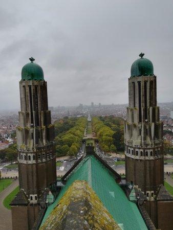 Koekelberg, เบลเยียม: Vistas desde el mirador.