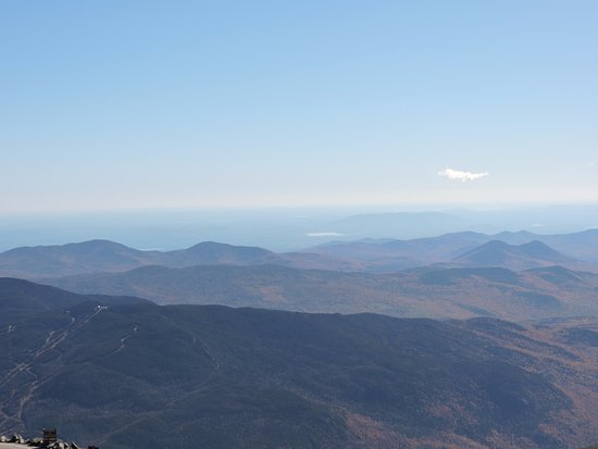 Gorham, Νιού Χάμσαϊρ: The magnificent view from the summit of the sorroundig mountains