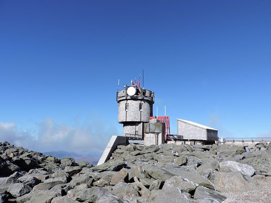Gorham, NH: The weather station at the summit