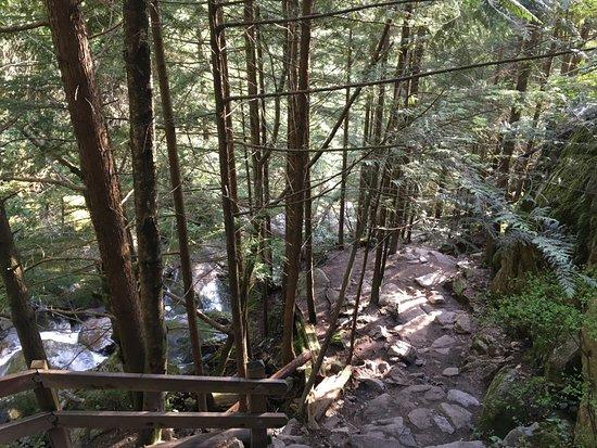 Squamish, แคนาดา: La resdecente