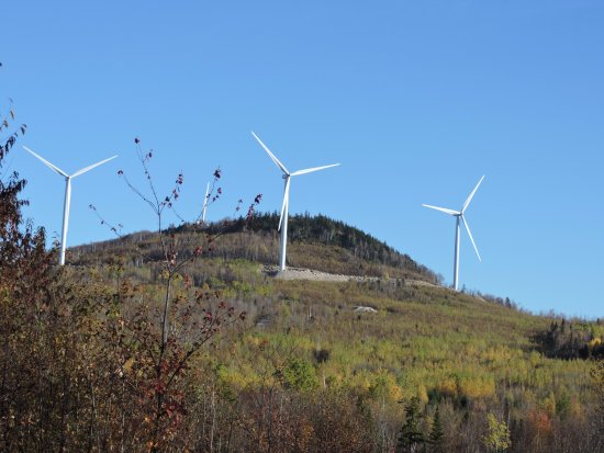 Gorham, NH: The wind turbines