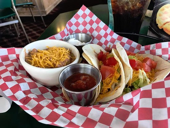 Bliss, ID: Beef Tacos!
