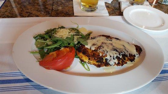 เจนเซน บีช, ฟลอริด้า: Parmesan Crusted Chicken Breast