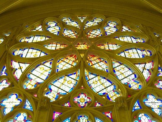 Vincennes, France: La Grande rosace