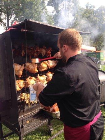Slany, Czech Republic: catering v polich :-)