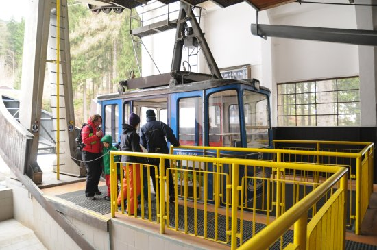 Liberec, República Checa: Jested Aerial Cableway