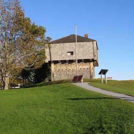St. Andrews Blockhouse: The blockhouse