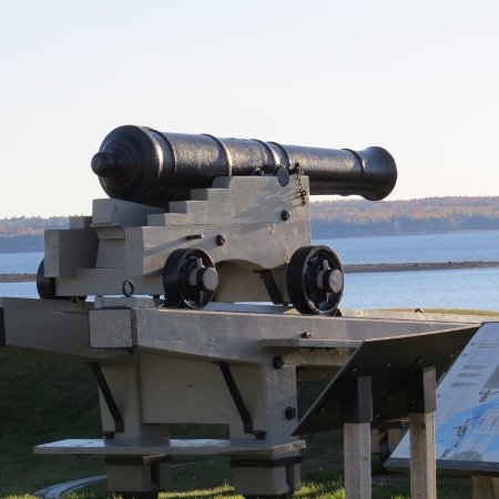 St. Andrews Blockhouse: A cannon