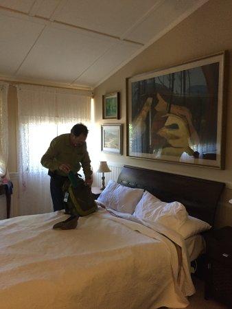 Medlow Bath, Australia: The bedroom