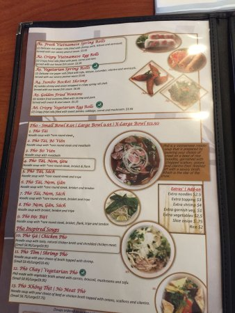 Pho  Virginia Beach Menu