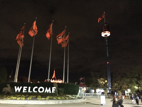 Six Flags Great America: Bye for now!