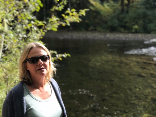 Welches, OR: Super clear water