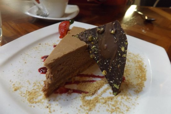 The Black Trumpet: Fabulous Bailey's cheesecake