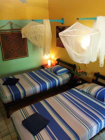 Hotel Guarana: Habitación con 2 camas individuales