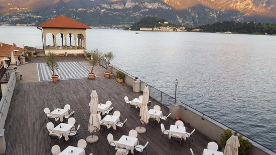 Grand Hotel Cadenabbia: View of Bellagio