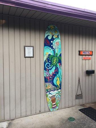 Navarre Beach Camping Resort: Bathrooms