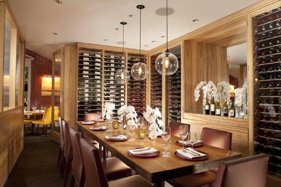 Del Mar, CA: LAuberge_Dining_WineRoom