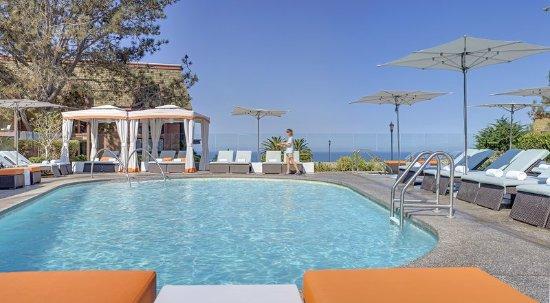 Del Mar, CA: LAuberge_Pool_CabanaTight