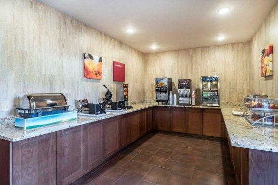 Yakima, WA: Breakfast area