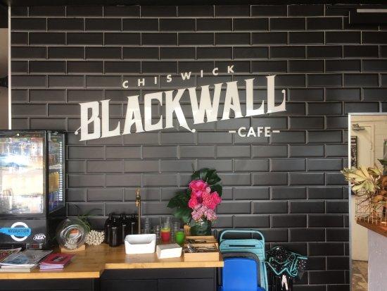 Canada Bay, Australien: Blackwall Cafe - Chiswick NSW