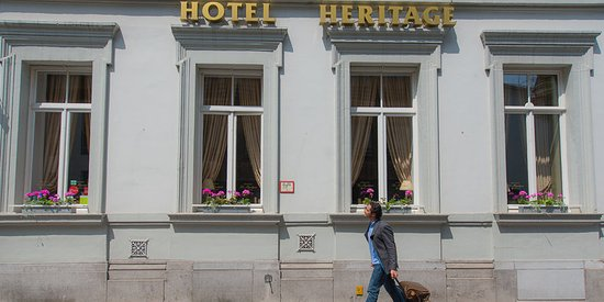 Hotel Heritage - Relais & Chateaux: Facade