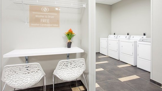 Candlewood Grand Island extended stay offers free guest laundry