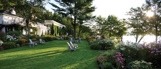 Manoir Hovey: Garden