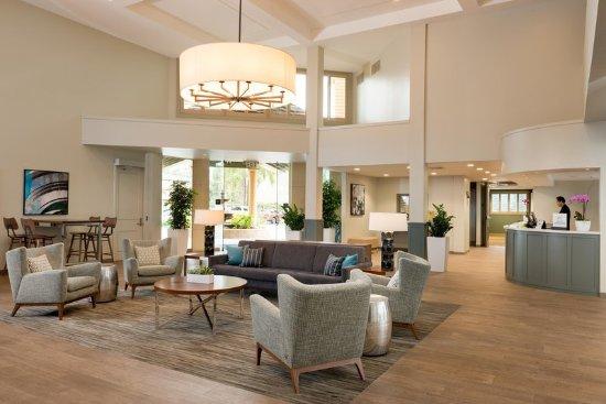 Campbell, Καλιφόρνια: Hotel Lobby