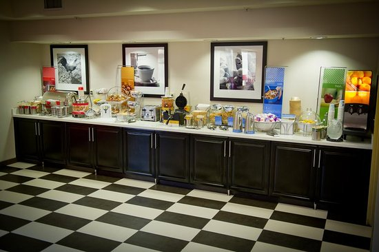 Hayward, Californie : Breakfast Buffet