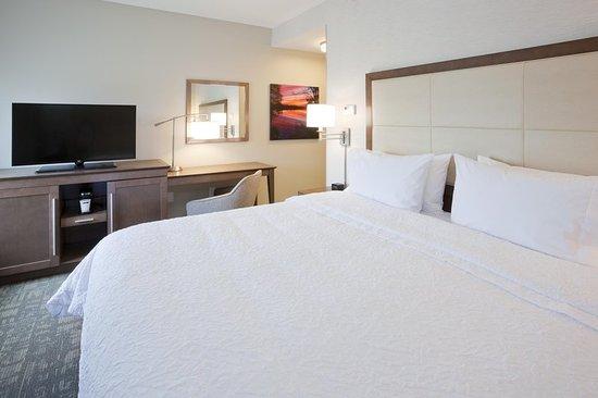 Spicer, MN: King Bed Room