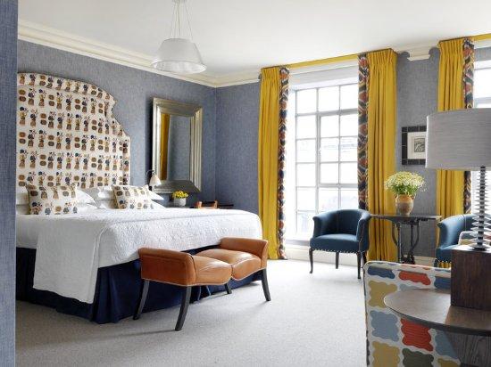 The Soho Hotel: Deluxe Room