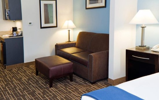 Holiday Inn Express Greenville Downtown: Each of suites has a sofa bed